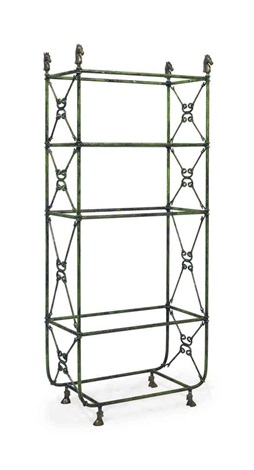 fourt tier etagere by arthur court
