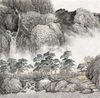醉秋 (landscape) by liu longyao