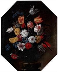 bodegón de flores by giuseppe recco