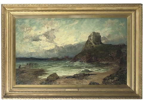 the reef, holy island by joseph langsdale pickering