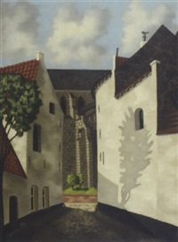 view on a church by toon van den muysenberg