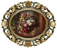 stilleben med blommor by alois zabehlicky