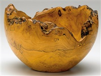 spalted bowl by mark lindquist