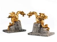 drachenfiguren (pair) by pietro tacca