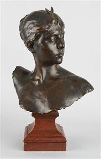 buste de diane de profil by jean alexandre joseph falguière