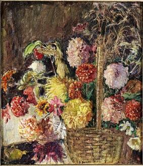 cesto di fiori by domenico buratti