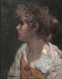 cabeza de mujer by luca postiglione