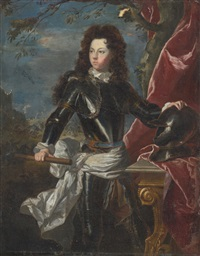 portrait of a man in armour by jan wildens