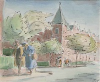 elgin avenue, london by edward ardizzone