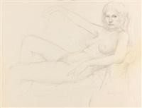 ohne titel (weiblicher akt) by william h. bailey