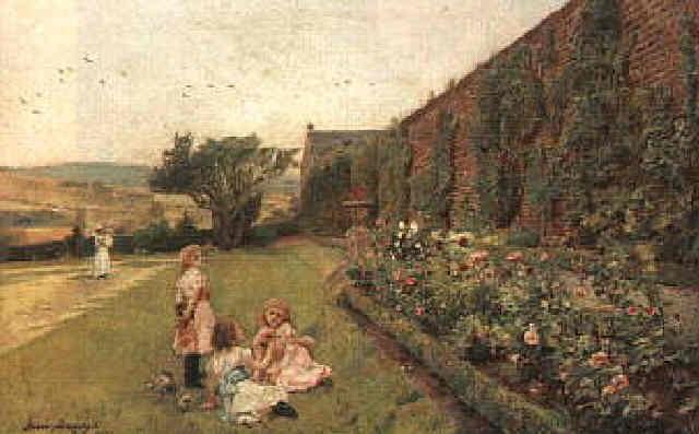 in the rose garden by jessie macgregor