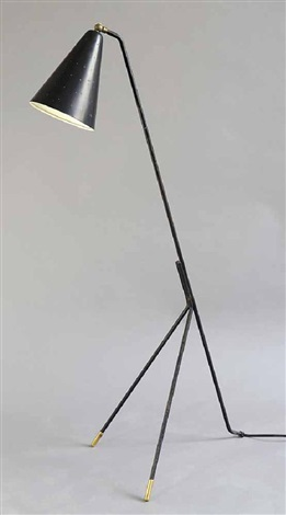 Three Legged Floor Lamp By Svend Aage Holm Sorensen On Artnet