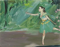 dancer on the stage, c. 1877-80 edgar degas a lake awakes by karen kilimnik
