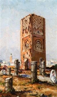 la tour hassan, rabat by raphaël lievin