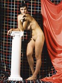 myla with column by roe ethridge