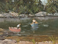 maine fishermen by robert shaw wesson