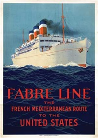 fabre line patria the french mediterranean route to the united states by sandy (georges taboureau) hook