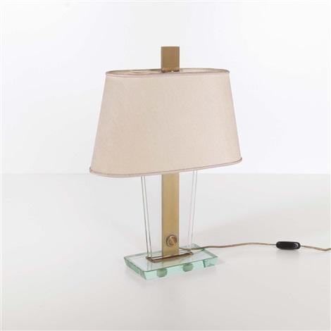 Lampada Da Tavolo Con Base By Pietro Chiesa On Artnet