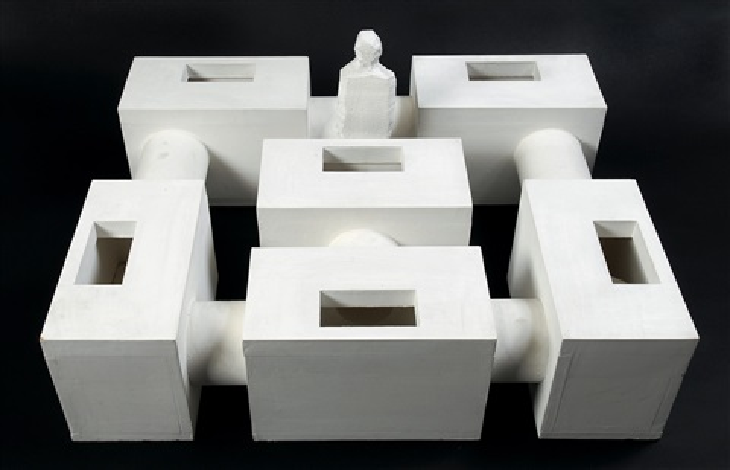 maquette pour une unité dhabitation by absalon