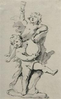 allegorie der müßigkeit by roman anton boos