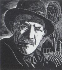 old farmer by leonard hutchinson