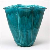 large vase by kähler pottery (co.)