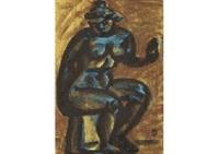 maillol's bronze nude by ryuzaburo umehara