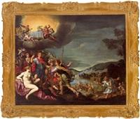 allegorie auf die thronbesteigung und glückliche regierung von maximilian i. von bayern (1573 - 1651) by antonio maria viani