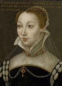 portrait de la maréchale danville by françois quesnel