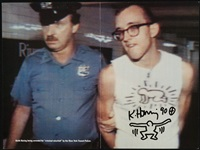 arrested by keith haring