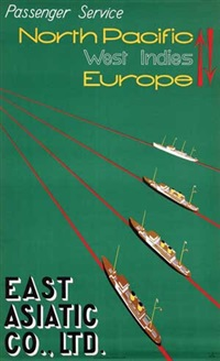 the east asiatic co. ltd. north pacific europe by edmond bille