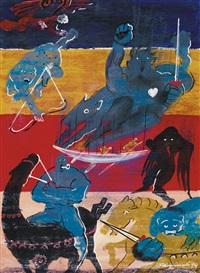 i quattro cavalieri dell'apocalisse n° 2 by aurelio caminati