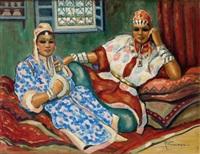 deux marocaines dans un intérieur by r. foissac