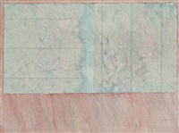 untitled (blue and deep pink) by richard smith