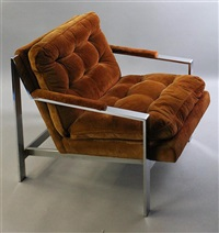 no. 951-103 milo lounge chairs (pair) by milo baughman