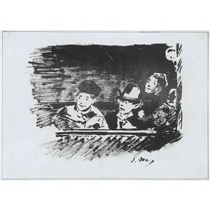 artwork by édouard manet