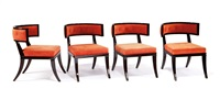 dining chairs (set of 4) by william haines