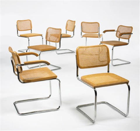 Dining Chairs Models B32 And B64 Set Of Thirteen By Marcel Breuer On Artnet