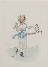 the garland by kate greenaway