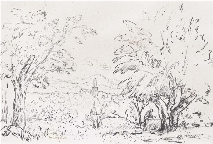 saint tropez by henri charles manguin