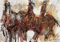 drei reiter by maurilio colombini