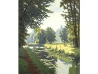 the canal by henri biva