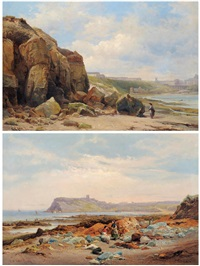 scarborough (2 works) by edward henry holder