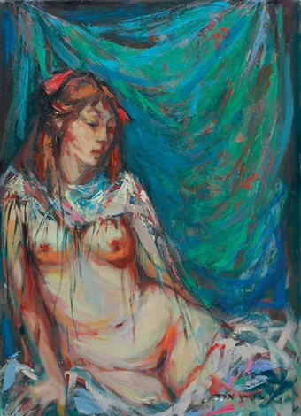 nude female figure by esther peretz arad