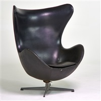 egg chair, denmark by arne jacobsen