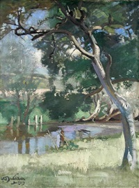 summer's afternoon by william oliphant hutchison