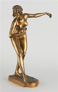 danseuse nue by paul philippe
