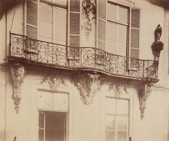 Hôtel dEquerilly, 60 Rue de Turenne by Eugène Atget on artnet