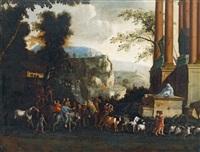 der einzug jesu in jerusalem by filippo d' angeli