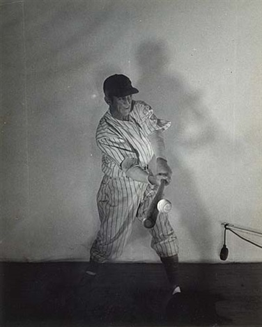 al lopez connecting with the ball by harold eugene edgerton